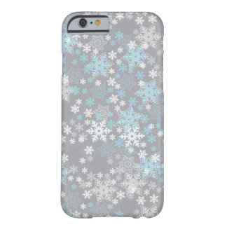 "IPhone 6 Case Seasonal Design Series ""Snow Flakes"""
