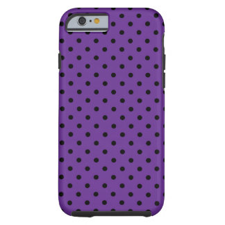 iPhone 6 case Shell Purple Polka Dot Tough iPhone 6 Case