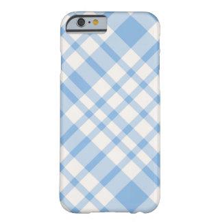 iPhone 6 case - Solid Plaid - SeaSalt