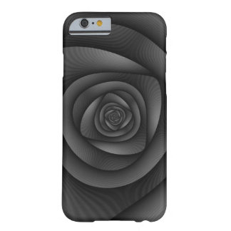 iPhone 6 Case  Spiral Labyrinth in Monochrome Barely There iPhone 6 Case