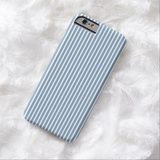 iPhone 6 case - Stripes Trend in Dusk Blue Barely There iPhone 6 Case