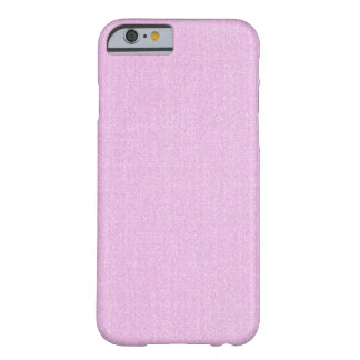 iPhone 6 case - Textured Solid - Light Pink Barely There iPhone 6 Case