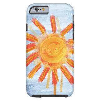 iPhone 6 case Tough Case, Sunshine Painting Tough iPhone 6 Case
