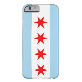 iPhone 6 case with Flag of Chicago, Illinois