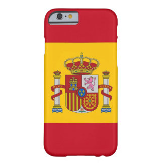 iPhone 6 case with Flag of Spain Barely There iPhone 6 Case