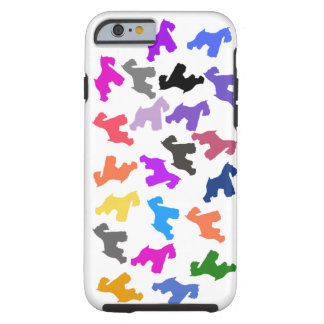 iPhone 6 case with Schnauzer Design