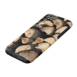 iPhone 6 case wood pile