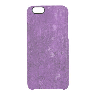 iPhone 6 Clearly™ Deflector Case - Concrete Purple