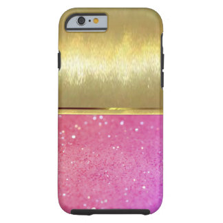 iPhone 6 Cool Shell Gold Design Case