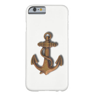 iPhone 6 Copper Anchor on White Barely There iPhone 6 Case
