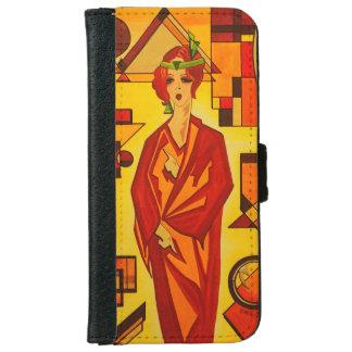 Iphone 6 flip case/wallet Art Deco Vogue iPhone 6 Wallet Case