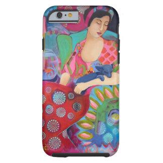 Iphone 6 phone case Bohemian Beauty Fine Art