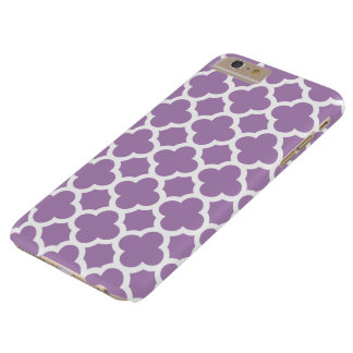 iPhone 6 Plus Case - African Violet Quatrefoil