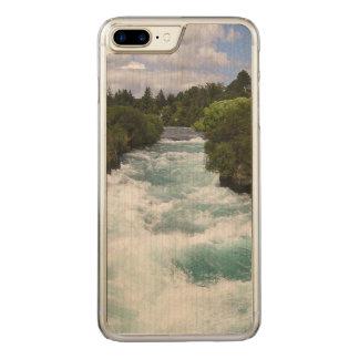 iPhone 6 Plus Slim Maple Wood Carved iPhone 8 Plus/7 Plus Case