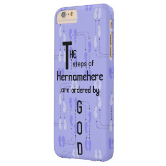 iPhone 6Plus - Steps of Righteous Customized Name Barely There iPhone 6 Plus Case