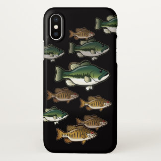 iPhone 7, 8 and X Bass Fishing Case
