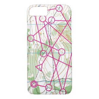 Iphone 7/8 cover - Orienteering course