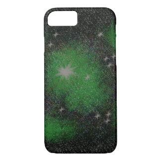iPhone 7/8 Green Galaxies Phone Case
