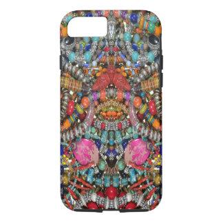 iPhone 7/8 hard case,bead jewelry print iPhone 8/7 Case