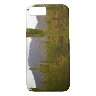 iPhone 7, Barely There Bright Sahuaro Cacti iPhone 7 Case