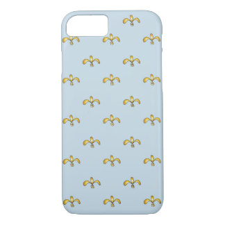 iPhone 7 barely there case with golden accents