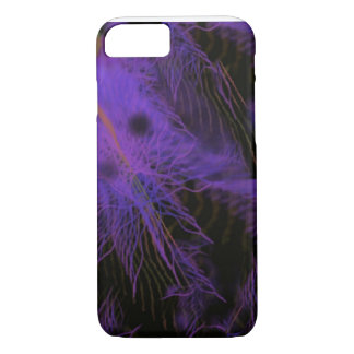iPhone 7, Barely There with Purple Structures iPhone 7 Case