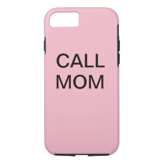 IPhone 7 Call Mom Case