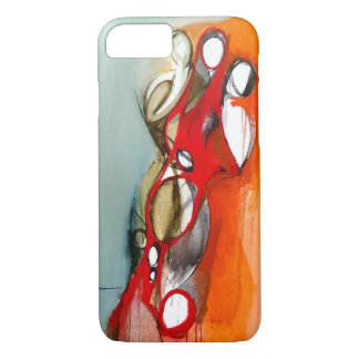 "iPhone 7 Case-""3 Figures Off-Center"" iPhone 7 Case"
