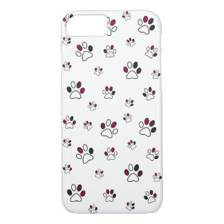 iPhone 7 Case Animal Paw print for Pet Lovers :)