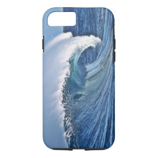 iPhone 7 case Blue Ocean Wave Photo