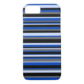 iPhone 7 case blue stripes