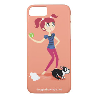 """iPhone 7 case: Boogie Loves All-Mighty """"Skipper"""" iPhone 7 Case"""