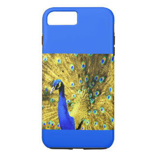 iPhone 7 CASE(CHANGEABLE)  GOLD PEACOCK CASE