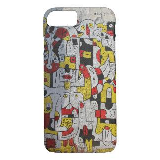 iphone 7 case featuring street art from Tel Aviv