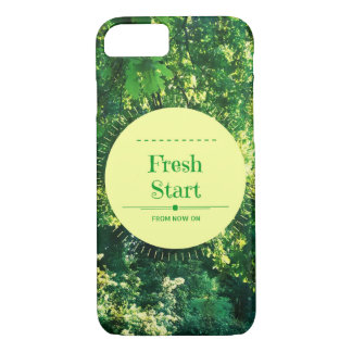 "iPhone 7 Case ""Fresh Start"""