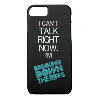 iPhone 7 case - I Can't Talk Right Now