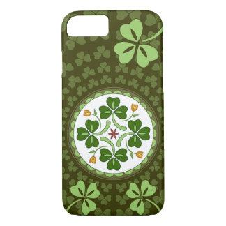 iPhone 7 case - Irish Good Luck Hex
