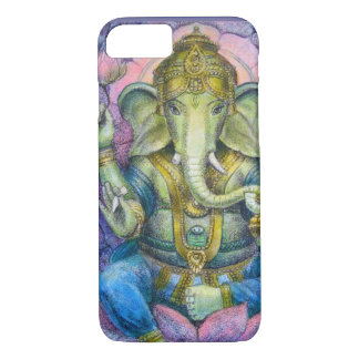 iPhone 7 case Lucky Ganesha elephant Buddha