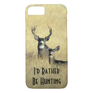 iPhone 7 case Masculine White Tail Mule Deer Buck
