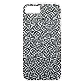 iPhone 7 case - Optical Illusion Black/White