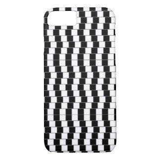 iPhone 7 case - Optical Illusion Black/White 2