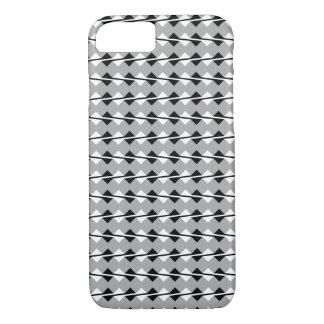 iPhone 7 case - Optical Illusion Gray/Black/White