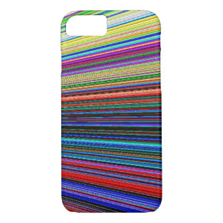 iPhone 7 case - Optical Multi-color Blast