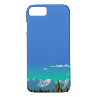 iPhone 7 Case - Pixel Mountains