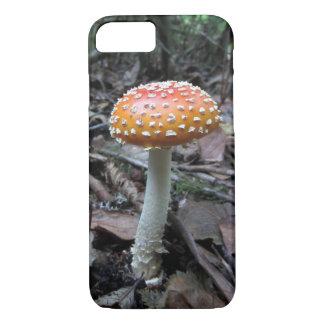 iPhone 7 case - Polka Dot Mushroom Photo
