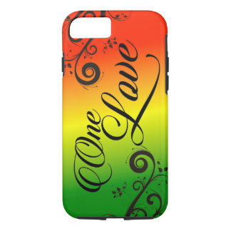 iPhone 7 Case Rasta Reggae One Love