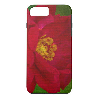 iPhone 7 case/Red Rose Mosiac Tile Style iPhone 8 Plus/7 Plus Case