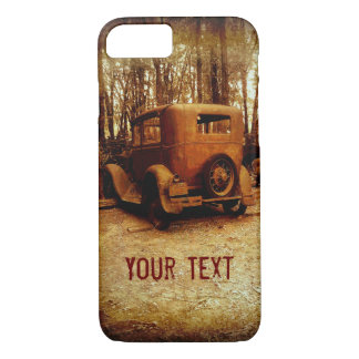 iPhone 7 case rusted classic car photography