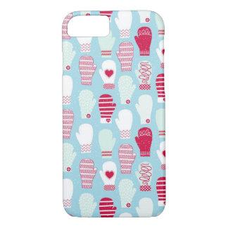 "iPhone 7 Case Seasonal Design Series ""Mittens"""