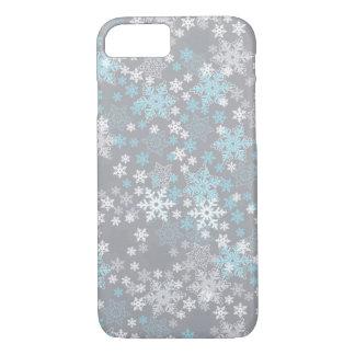 "iPhone 7 Case Seasonal Design Series ""Snow Flakes"""